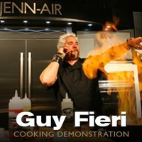 Cooking Demonstration with Guy Fieri
