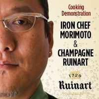 Cooking Demonstration with Iron Chef Morimoto & Champagne Ruinart