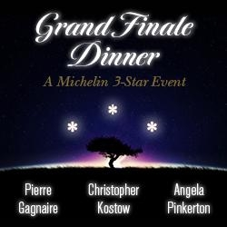 Grand Finale Dinner - A Michelin 3-Star Event